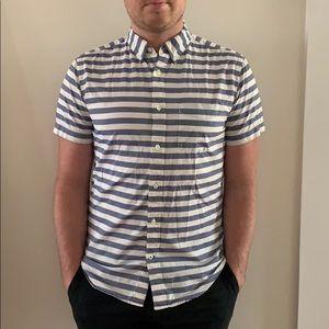 GAP Striped Button Down Shirt